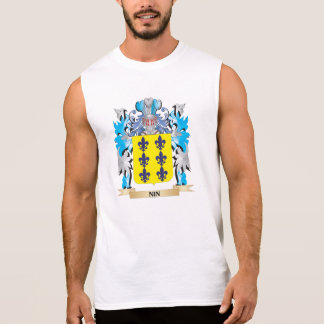 Nin Coat of Arms - Family Crest Sleeveless Shirt