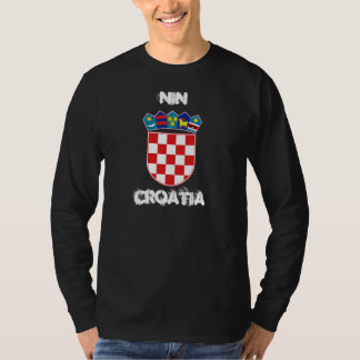 Nin, Croatia with coat of arms T-Shirt