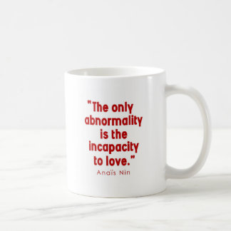 Nin on Abnormality Classic White Coffee Mug