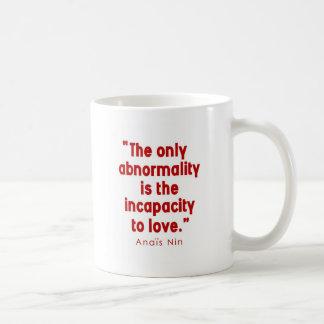 Nin on Abnormality Basic White Mug
