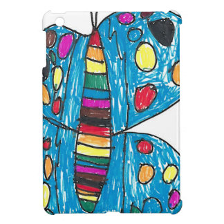Nina Rainbow Butterfly with Spots Cover For The iPad Mini