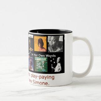 Nina Simone: In Her Own Words Two-Tone Coffee Mug
