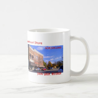 Nina's Department & Variety store mug