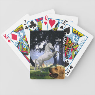 Nine Animals Bicycle Playing Cards