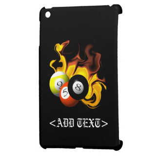 NINE BALL FIRE CASE FOR THE iPad MINI
