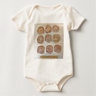 Nine Buns One Maple Bar Baby Bodysuit