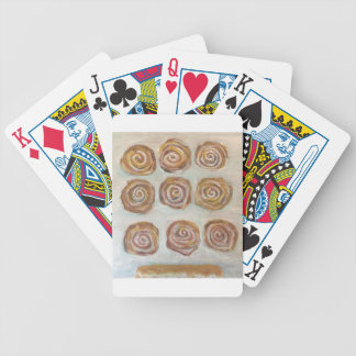 Nine Buns One Maple Bar Bicycle Playing Cards