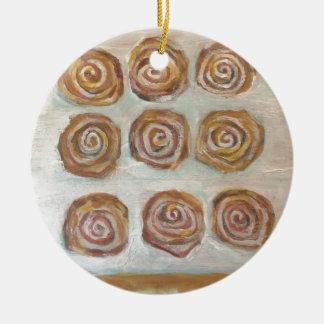 Nine Buns One Maple Bar Ceramic Ornament