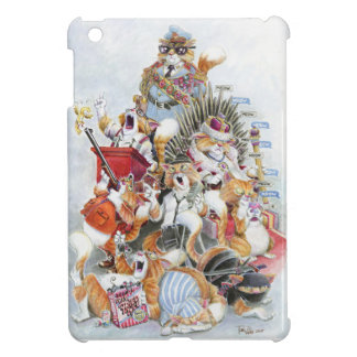 Nine Lives of Foppa the Cat-iPadMinicase Cover For The iPad Mini