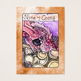 Nine of Coins Business Card