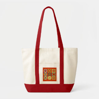 Nine Patch Tote Bag