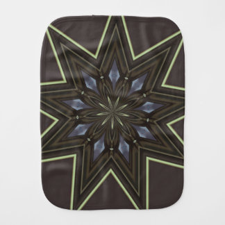 Nine Pointed Star Burp Cloth