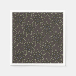 Nine Pointed Star Disposable Napkin