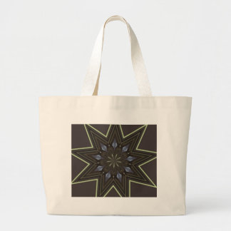 Nine Pointed Star Large Tote Bag