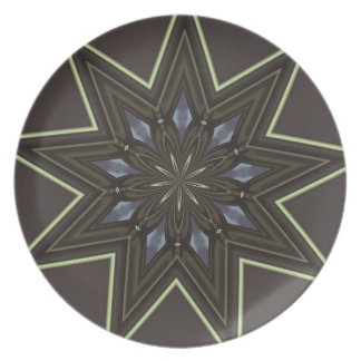Nine Pointed Star Plate