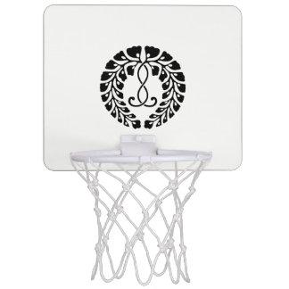 Nine provision rattan mini basketball hoop