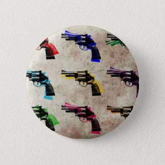 Nine Revolvers 2 Inch Round Button