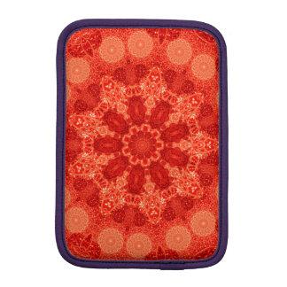 Ninefold Passion Star Mandala iPad Mini Sleeve