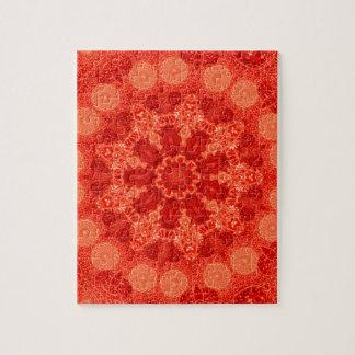 Ninefold Passion Star Mandala Jigsaw Puzzle