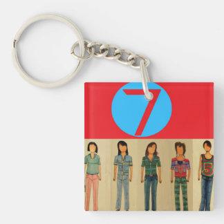 Nineteen Ninety Seven  1997 Keychain