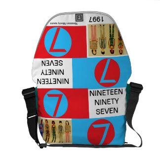 Nineteen Ninety Seven / Number seven Courier Bag