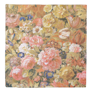 Nineteenth Century French Floral Duvet Cover