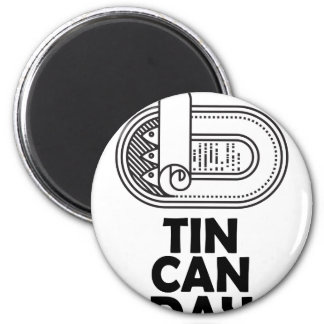 Nineteenth January - Tin Can Day Magnet