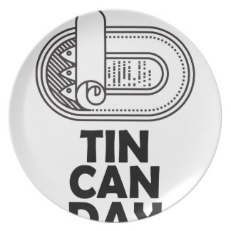 Nineteenth January - Tin Can Day Plate