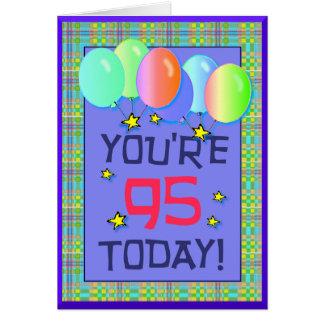 Ninety-fifth Birthday Card