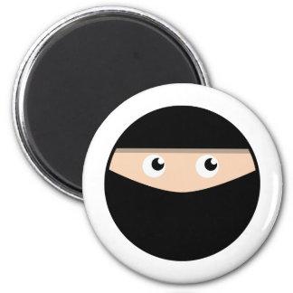 Ninja! 2 Inch Round Magnet