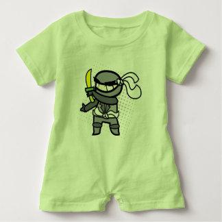 Ninja baby romper