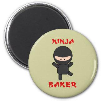 ninja baker 2 inch round magnet