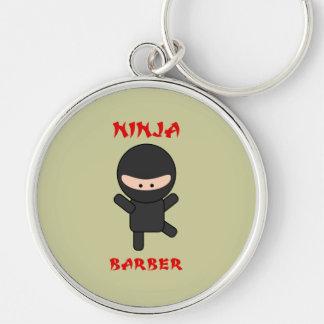 Ninja Barber Plain Keychain