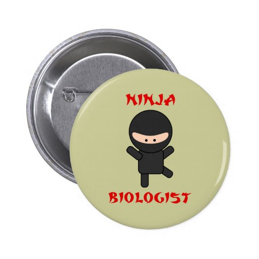 ninja biologist buttons