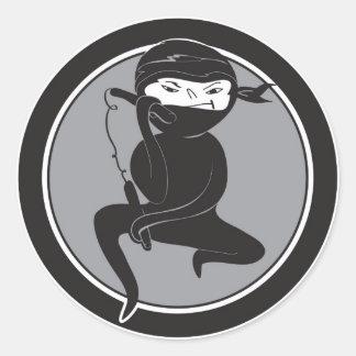 NInja Black Belt Stickers