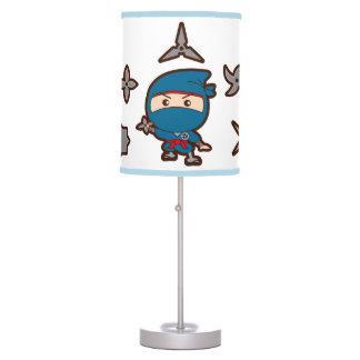 Ninja Boy Table Lamp