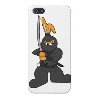 Ninja Bunny iPhone 5 Covers