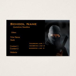 Ninja Business Card