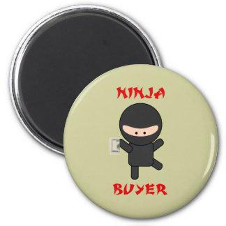 ninja buyer with cash 2 inch round magnet