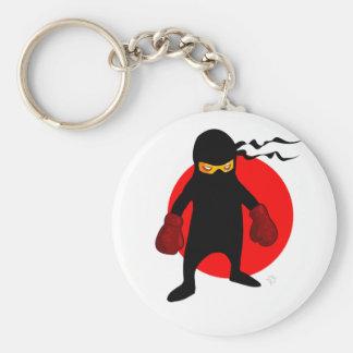 Ninja by Chillee Wilson Keychain