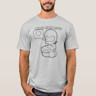 Ninja Cake Love T-Shirt