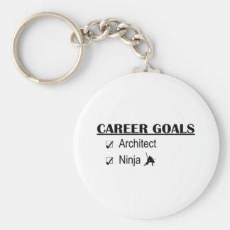 Ninja Career Goals - Architect Keychain