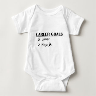 Ninja Career Goals - Broker Baby Bodysuit