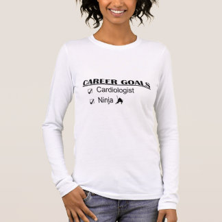 Ninja Career Goals - Cardiologist Long Sleeve T-Shirt