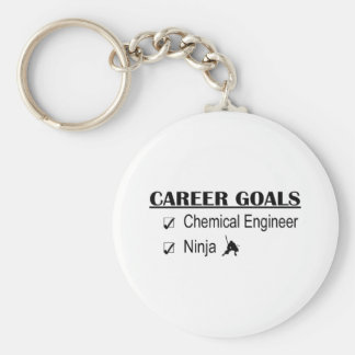Ninja Career Goals - Chemical Engineer Basic Round Button Keychain
