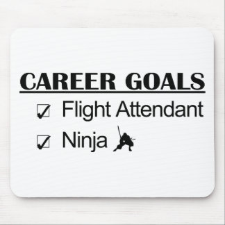 Ninja Career Goals - Flight Attendant Mouse Pad