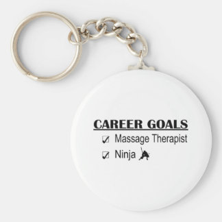 Ninja Career Goals - Massage Therapist Key Chains
