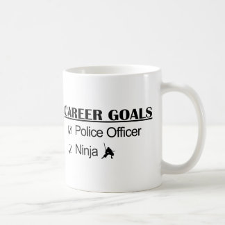 Ninja Career Goals - Police Officer Coffee Mug