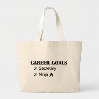 Ninja Career Goals - Secretary Canvas Bags