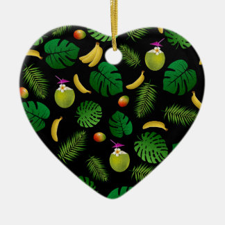 Ninja Ceramic Heart Ornament